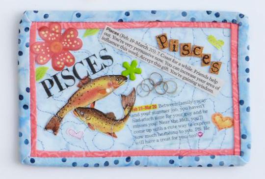 Horoscope Postcard