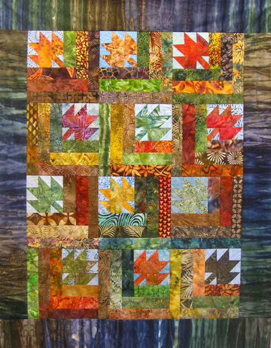 Jody Sanders' version of Scattered Leaves