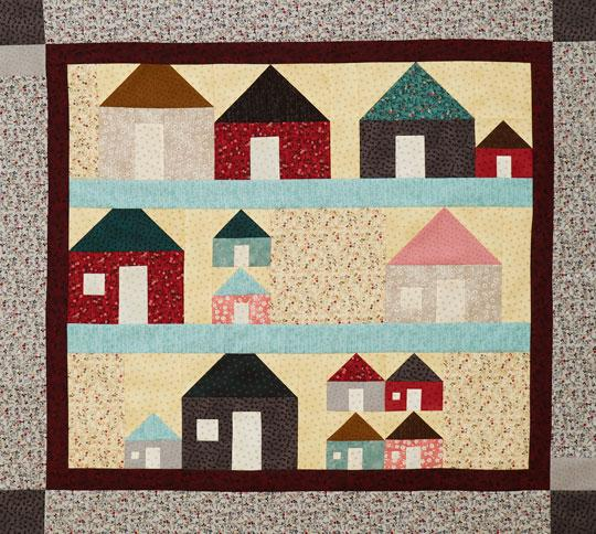 On the Block Wall Quilt