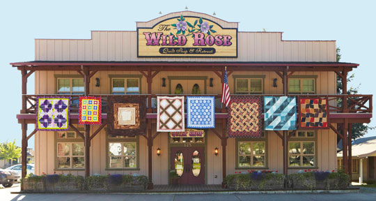 The Wild Rose Quilt Shop & Retreat