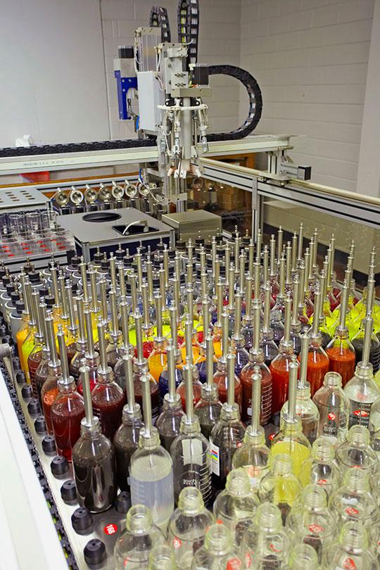 Dye Mixing