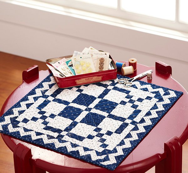 Time and Again Mini Quilt