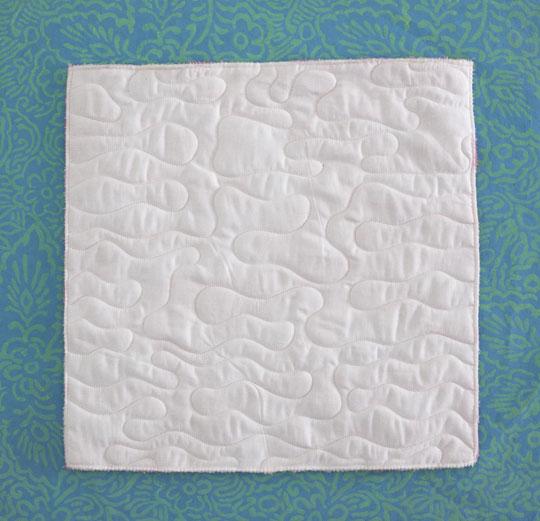 Piecing Plush Fabric