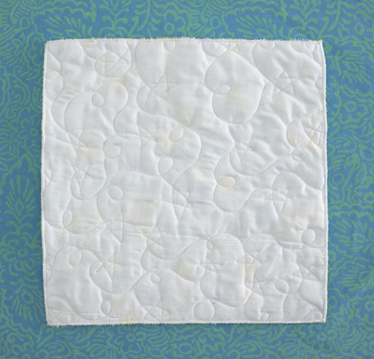 Long-Arm Quilting: Plush Fabric on Quilt Tops