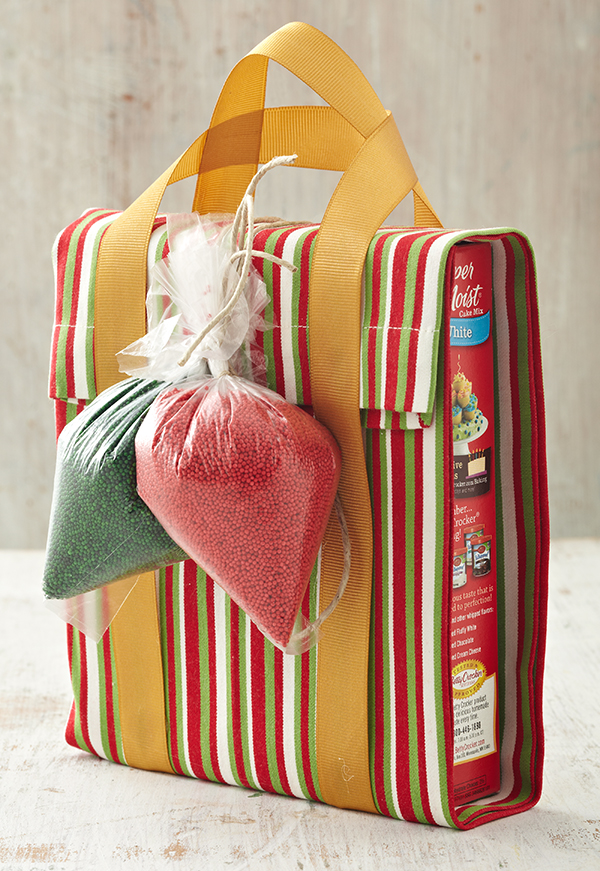 Wrapped Cake Mix