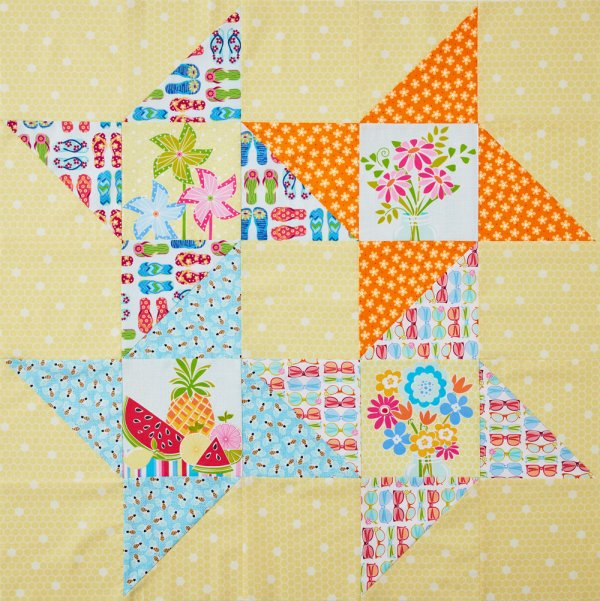 Summer Stars Table Topper