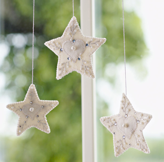 Sparkle and Shine Ornaments