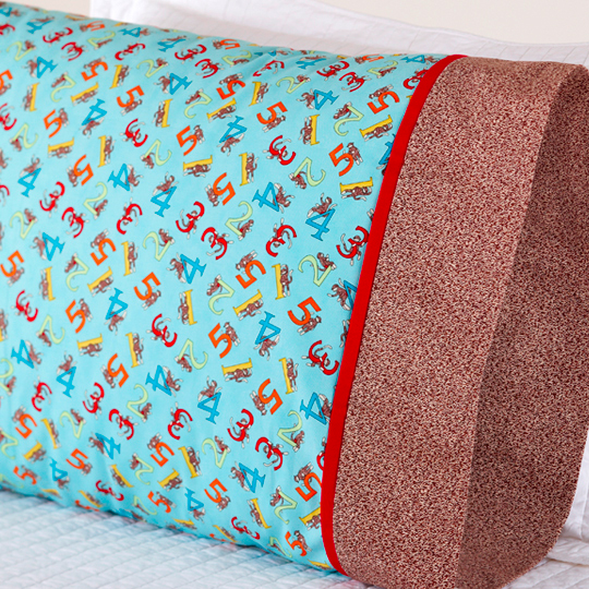 One Million Pillowcase Challenge Featured Fabric