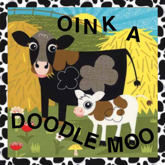 Oink a Doodle Moo Quiet Book