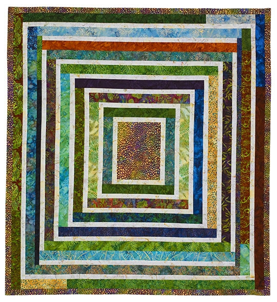 Bundles of Borders Wall Quilt