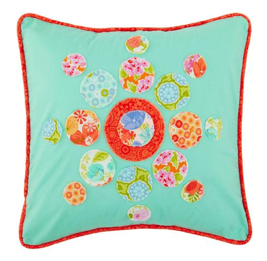 Bright and Bubbly Pillow