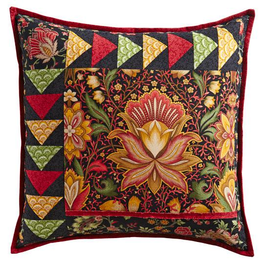 Ornate Floral Pillow