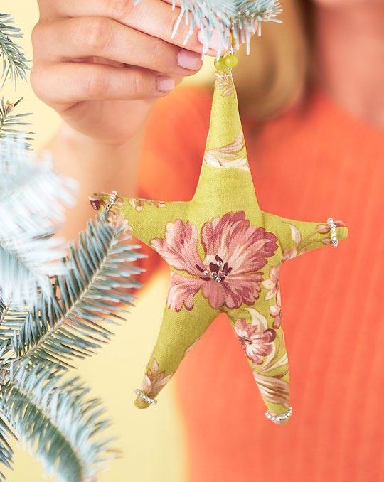 Winter Jewels Star Ornament