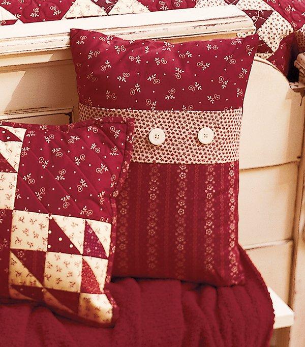 Button-Band Pillow