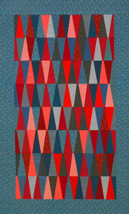 Tumbling Triangles Quilt