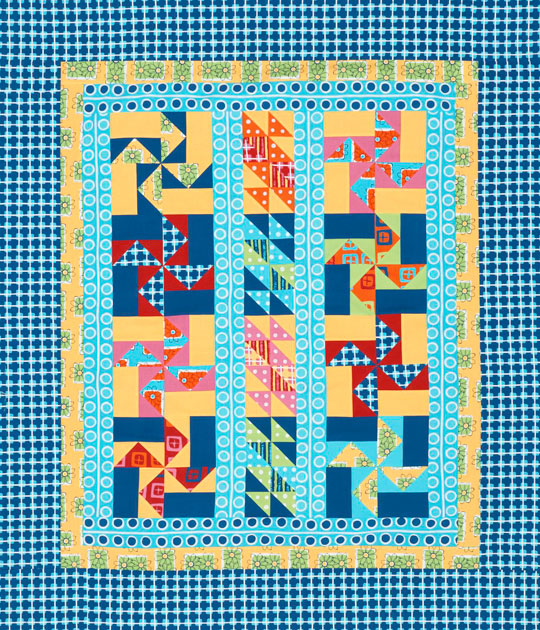 Whimsical Windmills Quilt