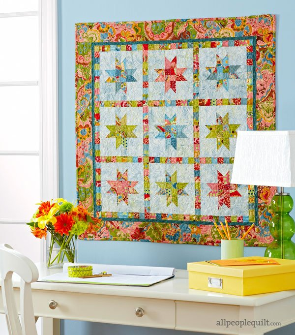 Scrappy Wall Quilt Projects