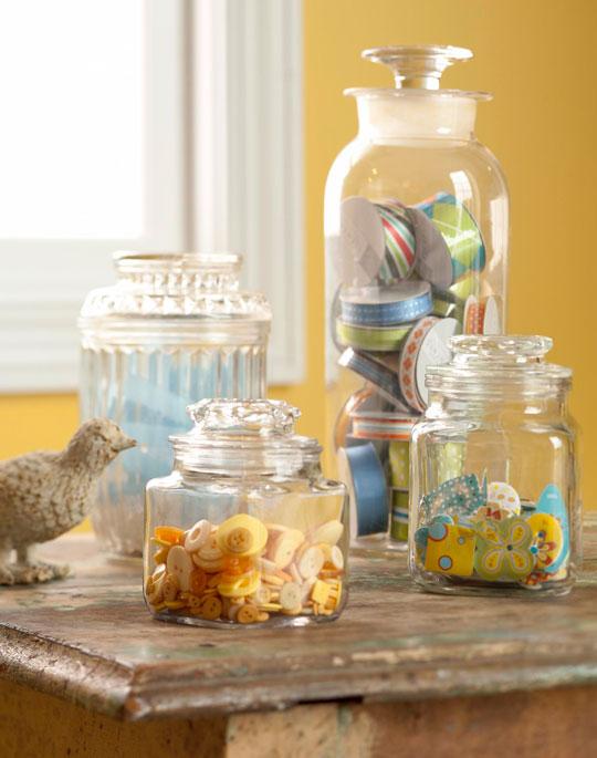 Glass Notion Storage