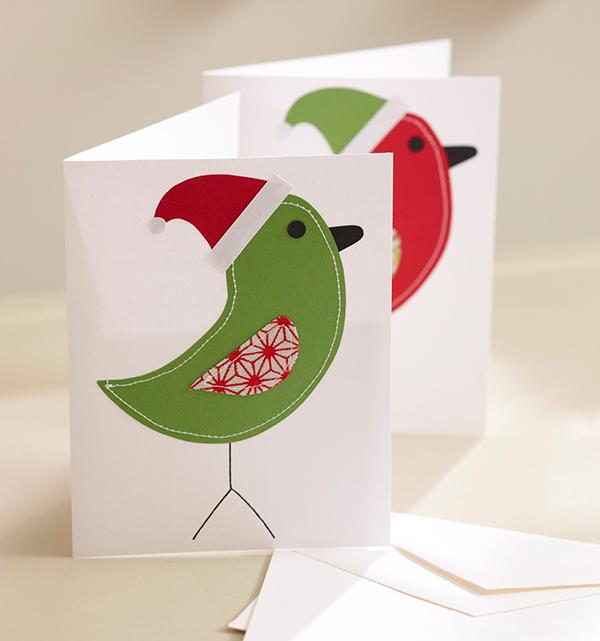 Santa Tweet Card