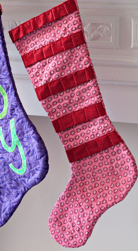 Christmas Trim Stocking