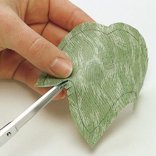 Cut and Clip Appliqué Shapes