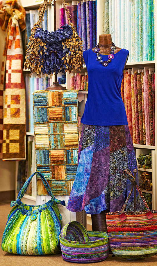 Blending Batiks and Beads