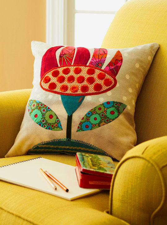 Coneflower Pillow