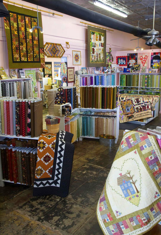 Happiness Is … Quilting!