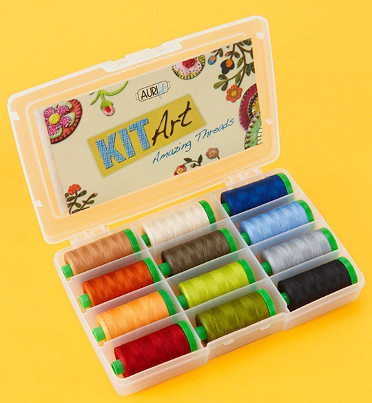 Aurifil Kit Art Amazing Threads