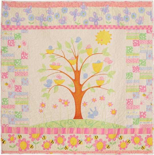Spring Fling - Birdy Tree