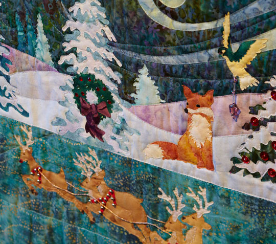 Heaven and Nature Sing is the latest holiday quilt from McK