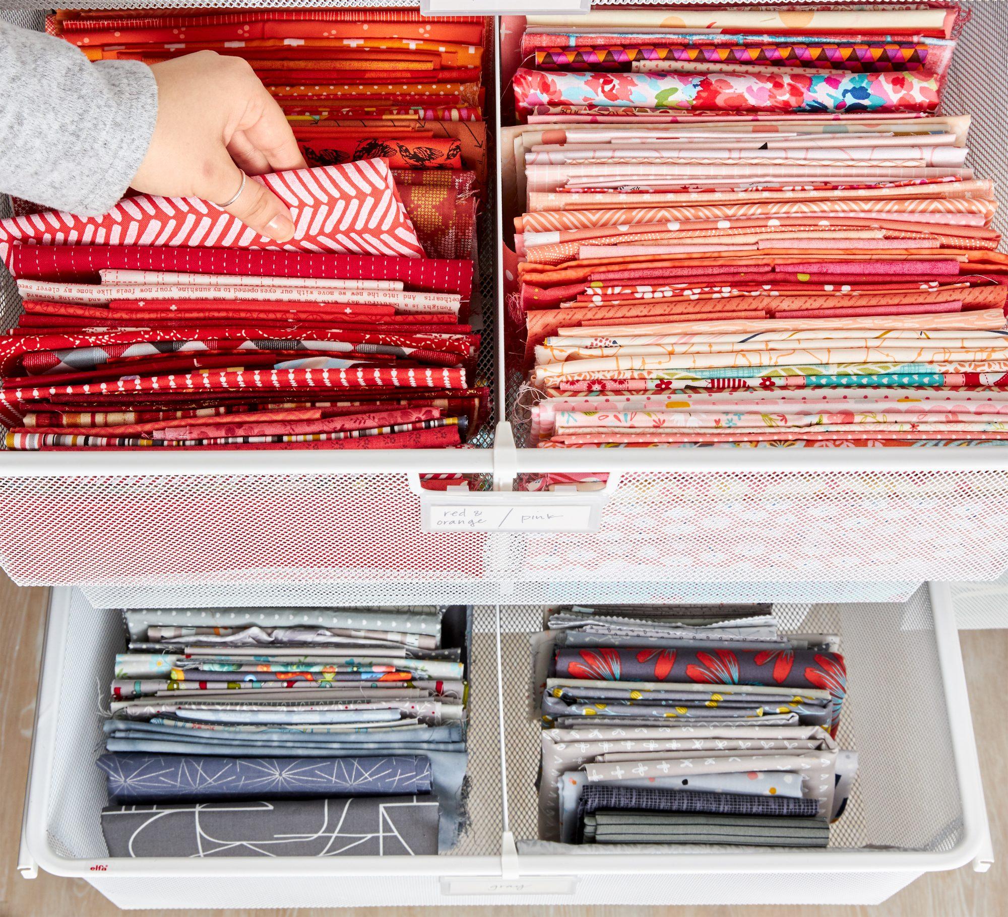 Smart Ways To Store Fabric Allpeoplequilt Com
