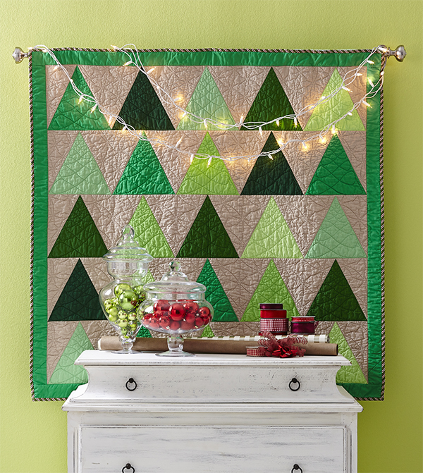 Tree Time Wall Quilt