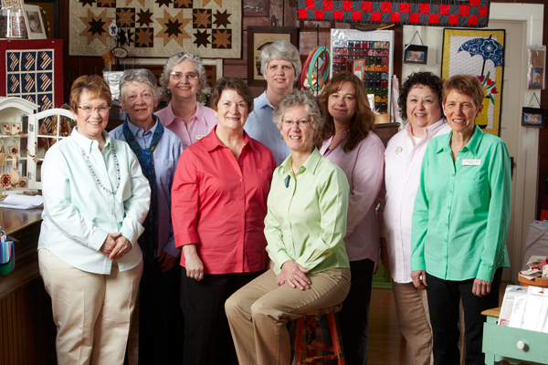 Meet the Staff of O'Susannah's Quilts & Gifts