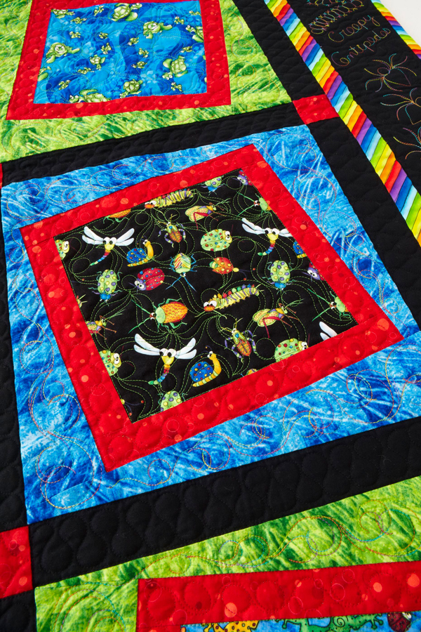 Squiggles & Wiggles Machine-Quilting Details
