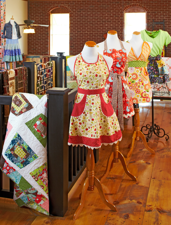 Aprons on Display