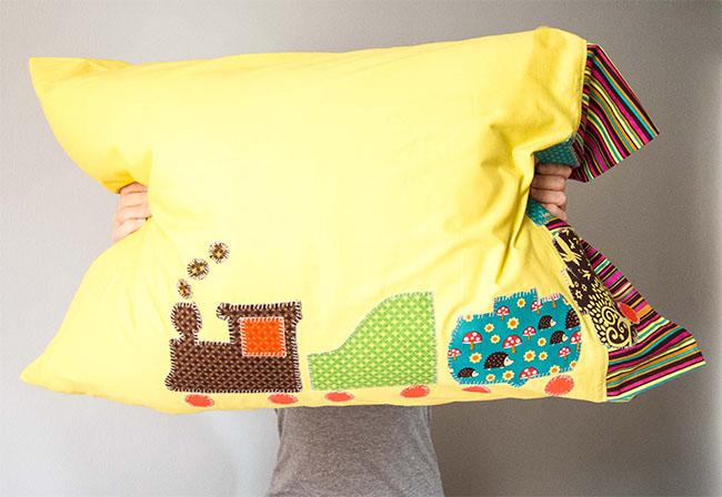 Michael Miller Fabrics' Pillowcase