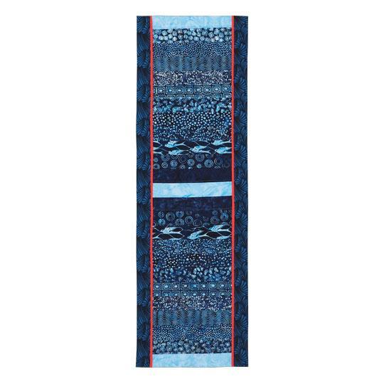 Batik Strips Table Topper