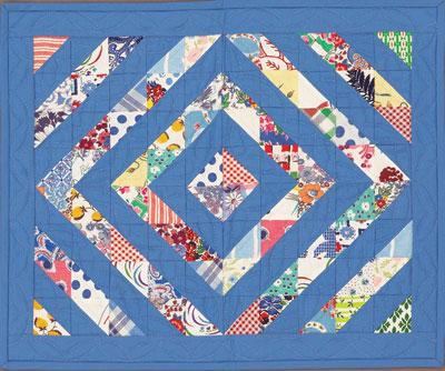 Reproduction-Look Doll Quilt