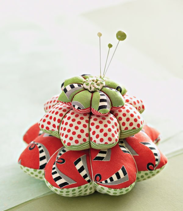 Petal Pincushion Stacks