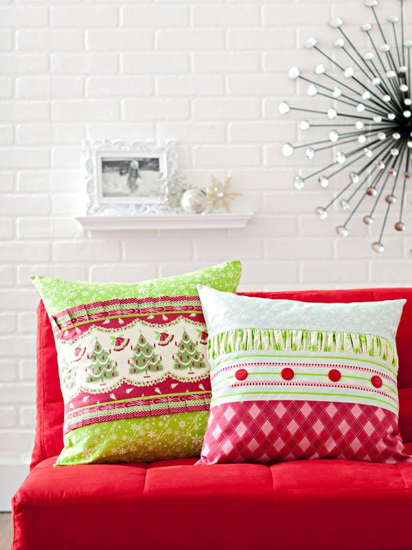 Jolly Holiday Pillows
