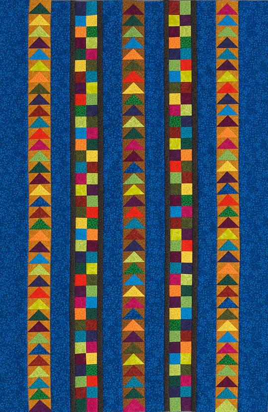 Flying Four-Patch Wall Hanging