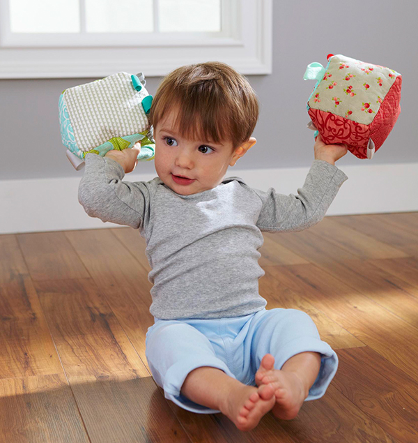 Soft Baby Blocks