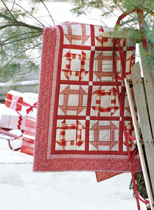 Candy Cane Wall Quilt