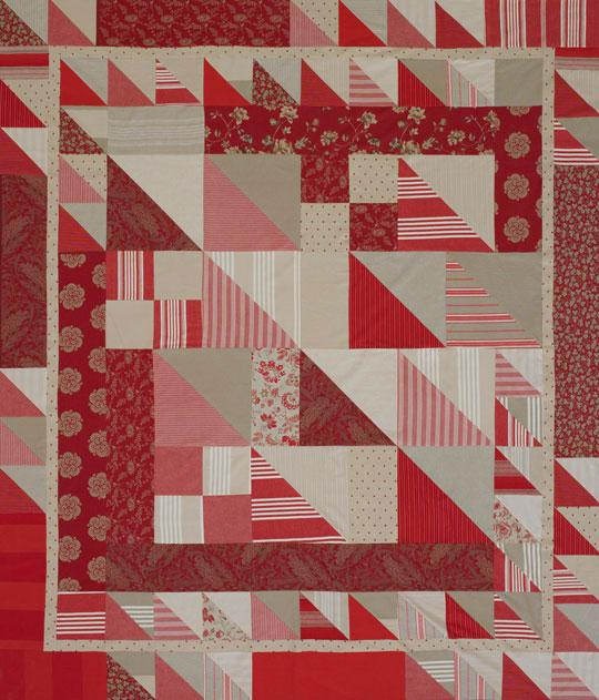 Red Triangle-Squares
