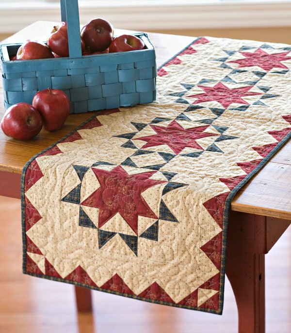 Star Block Table Toppers