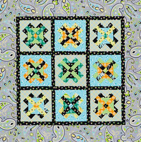 Crossing Paths Wall Quilt
