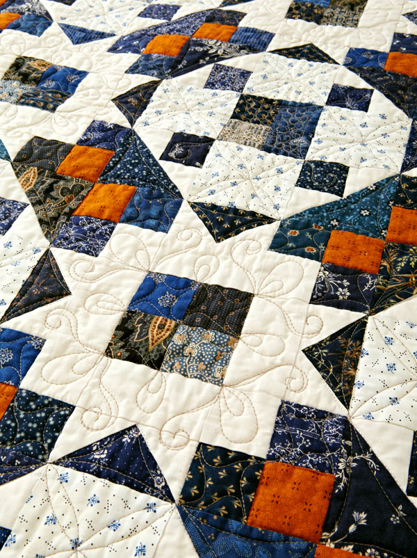 Better With Cheddar Machine-Quilting Details