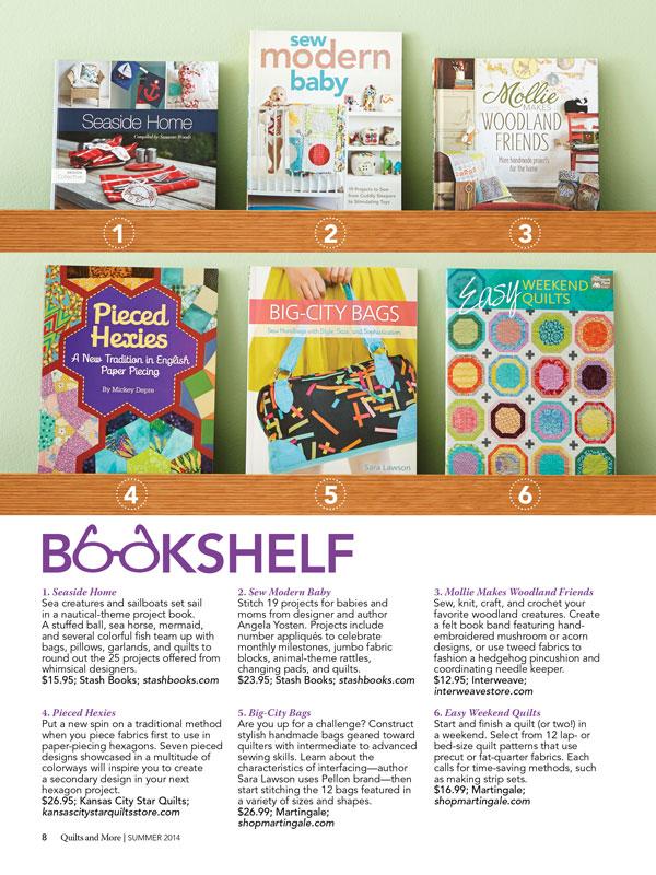 Summer 2014 Bookshelf