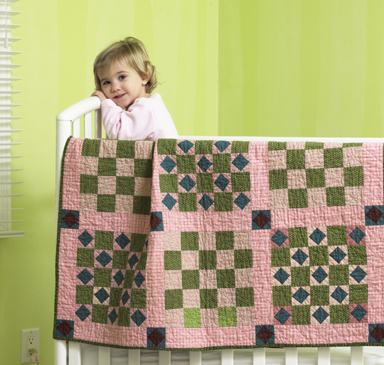 Vintage-Inspired Crib Quilt